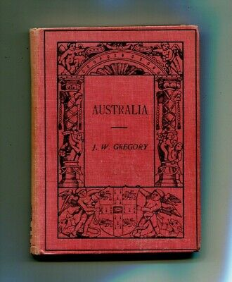 Australia by Gregory 1916 Education book   Kerang inscription