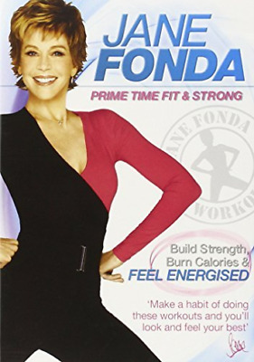 Jane Fonda: Prime Time Fit and Strong DVD NEUF