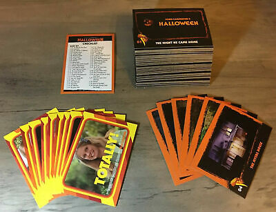 2019 Fright-Rags HALLOWEEN mini-master trading card set base,stickers,parallels