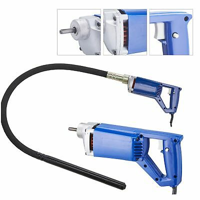 Electric Power Concrete Vibrator Tool Cement Finishing Bubble Remover 3/4HP.