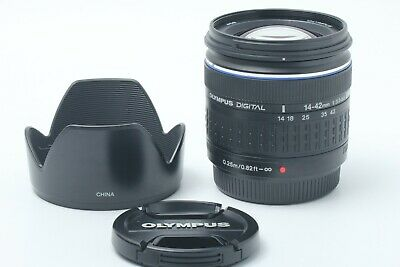 "Olympus Zuiko Digital 14-42mm f/ 3.5-5.6 ED 4/3 ""N.MINT"" JAPAN #200228"