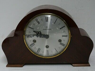 Good Quality Junghans Mantle Clock Whittington & Westminster Chimes - Rare