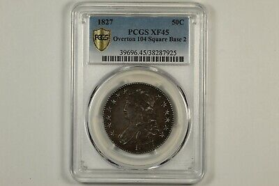 1827 Capped Bust Half Dollar PCGS XF45
