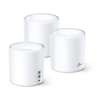 TP-Link Deco X60(3-pack) AX3000 Whole Home Mesh Wi-Fi System