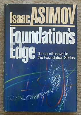 Foundation's Edge by Isaac Asimov 1982 Hardcover with dust jacket, First Edition