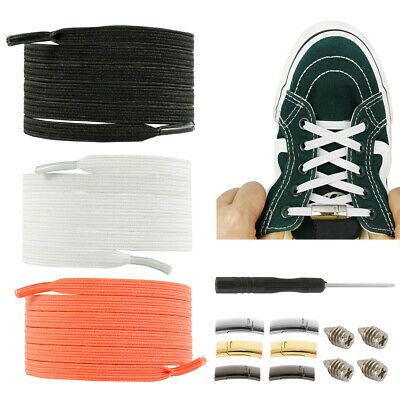 Shoe Lock Laces Unsiex Adults Kids Elastic Locking Shoelaces Sports No Tie