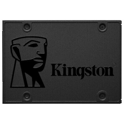 Lotto interno SSD Kingston SSD 120GB A400 da 2,5 pollici SATA III SSD usato