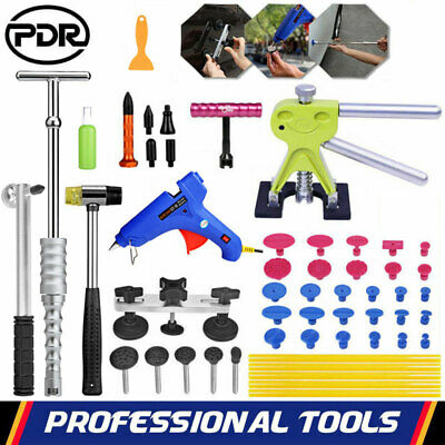 PDR Paintless Dent Removal Puller Lifter Slide Hammer Car Damage Repair Tool Kit