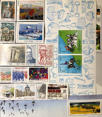 Timbres France Neufs - Lot Timbres 2014 - MNH - Faciale 16,34€