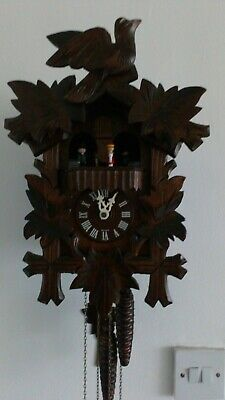 Black forest Danbury mint exclusive cuckoo clock, 3weight with music