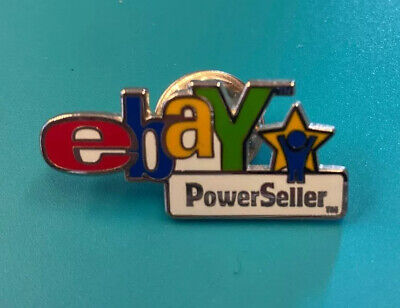 eBay Live  Convention Collectible Vintage PowerSeller Pin 2003