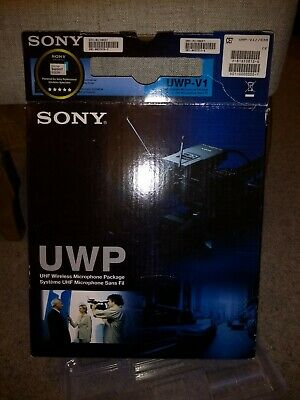 Sony UWP-V1 UHF Wireless Microphone Package