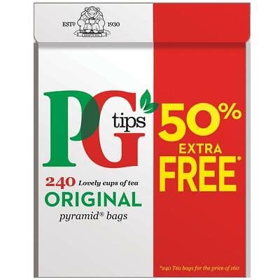 PG Tips 240 x Pyramid Tea Bags British 750g Worldwide Delivery No.1 English Tea