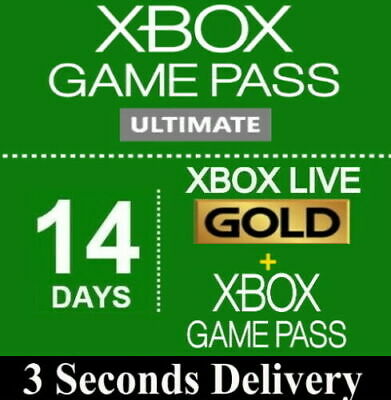 Xbox Live 14 Day (2 Weeks) Gold Trial Membership Code Instant Delivery 24/7