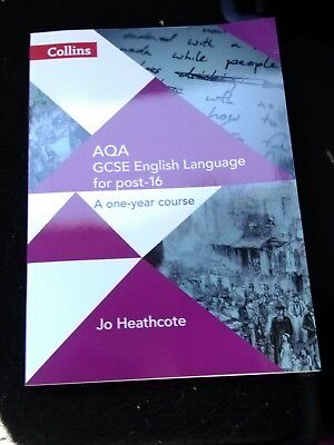 AQA GCSE English Language for post-16 Student Book by Jo Heathcote 9780008209339