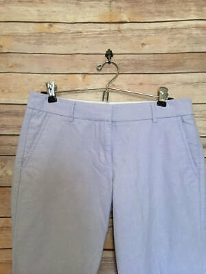 J Crew Light Blue Chino Cropped Pant 4