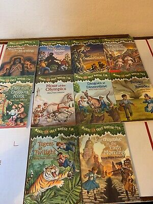 Magic Tree House Children Book Lot of 10 different books. Free Shipping!!