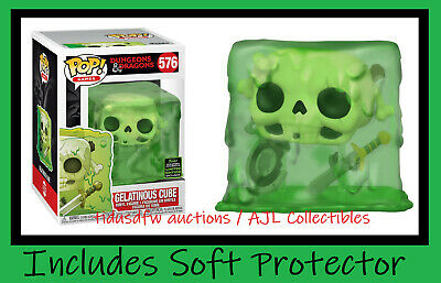 Funko Pop! Games Dungeons & Dragons 576 Gelatinous Cube Spring Exclusive PRESALE