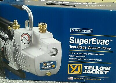 Yellow Jacket Evac  Vacuum Pump