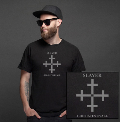 Slayer God Hates Us All T-Shirt | Shirt Album Tickets Reign Blood South Heaven