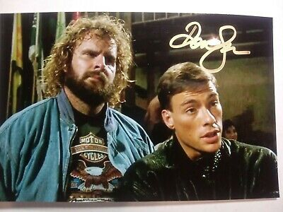 DONALD GIBB As RAY JACKSON Authentic Hand Signed Autograph 4X6 Photo BLOODSPORT