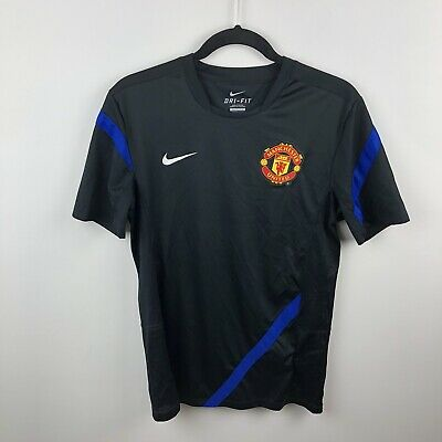 Nike Men/'s MANCHESTER UNITED DRI-FIT Training T-Shirt Red 477756-066 a1