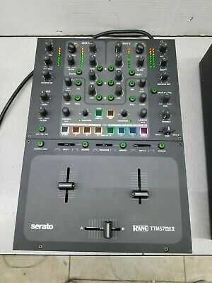 Rane TTM57 MkII For Serato DJ Mixer - Excellent Condition, Barely Used