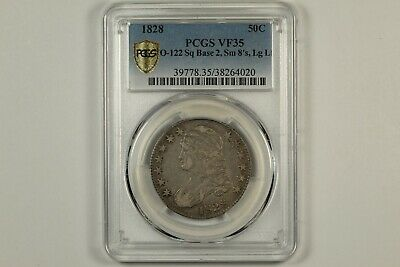 1828 Capped Bust Half Dollar PCGS VF35