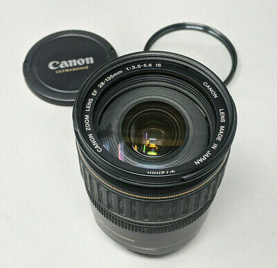 Canon EF 28-135mm f3.5-5.6 IS USM Macro Lens - plus filter - Sale!