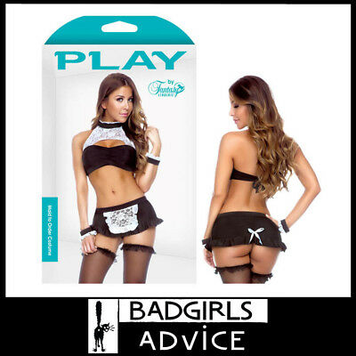 Bad Girls Advice Play Maid To Order Costume - M/L Size 12-16 Au Quality Created