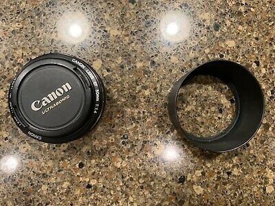 Canon EF 50mm f/1.4 USM Lens - Used in excellent condition