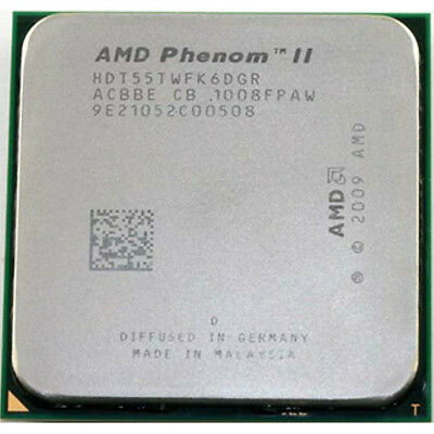 AMD CPU Phenom II X6-1055T 2.8GHz Socket AM3  HDT55TWFK6DGR 95W