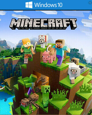 Minecraft Windows 10 Edition Key Worldwide