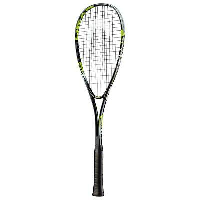 Head Cyber Edge Squash Racquet Racket Ball - Fully Strung with Cover
