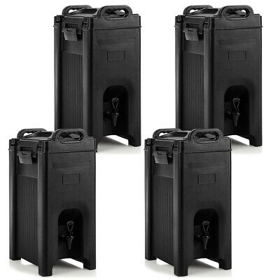 4 Pack Insulated Beverage Server/Dispenser 5 Gallon Hot & Cold Drinks w/ Handles