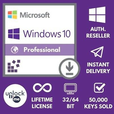 WINDOWS 10 PRO  WIN 10 GENUINE LICENSE ORIGINAL ACTIVATION KEY 1 BUYER=7 KEY Max