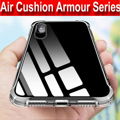 CLEAR Case iPhone 11,11 Pro Max ,XR ,XS Max 8 7 6 Shockproof Silicone Gel Cover