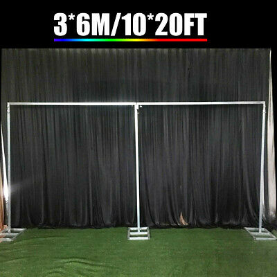 10x20ft Wedding Backdrop Stand Telescopic Background Photography Support Kit