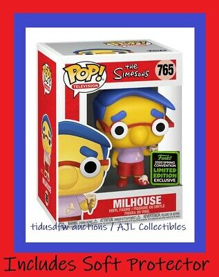 Funko Pop! Television the Simpsons MILHOUSE BoxLunch Shared Exclusive PRESALE