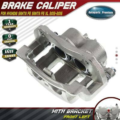 A-Premium Brake Caliper with Bracket Compatible with Hyundai Santa Fe 2007-2009 2013-2016 Front Left Driver Side