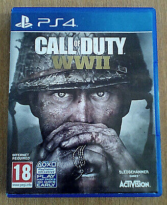 COD Call of Duty World War 2 (WWII) for Sony PlayStation 4 (PS4)