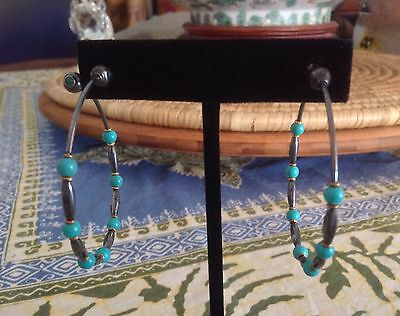 Galapagos 85 ~Lapis Lazuli Dangling Earrings with Metal Choice