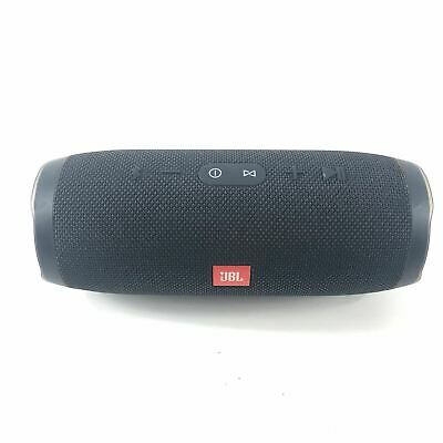 JBL Charge 3 Portable Splashproof Wireless Bluetooth Speaker Black