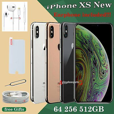 64 256 512 GB Apple iPhone XS NEW Smartphone SIM Free Unlocked All Colours UK