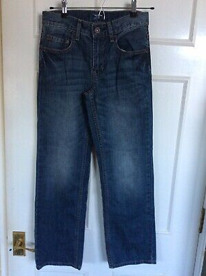 Boys Gap Blue Jeans Age 12 Regular Straight Fit