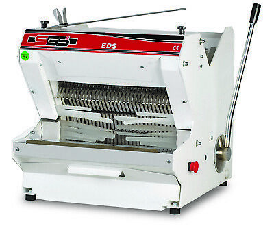 New/Canmac Electric Bread/Slicer Machine Table Top -Bakeries – Eds 13Mm