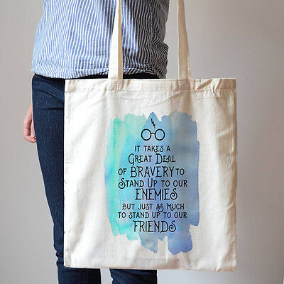Dog Lover Owner Quote Animal Friendship Family Tote Shopping Bag Cotton gift