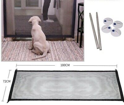 Portable Folding Safety Magic Gate Guard Mesh Fence Net for Pets Dog Puppy Cat