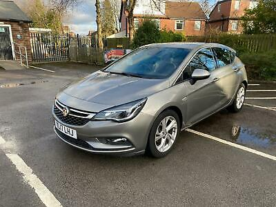vauxhall astra 1.4 Sri Turbo 2017 150ps Automatic