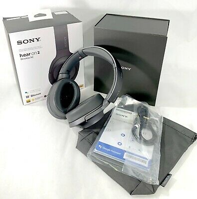 Sony h.ear on 2 Wireless Noise Cancelling Headphones A+ New - Open Box $299